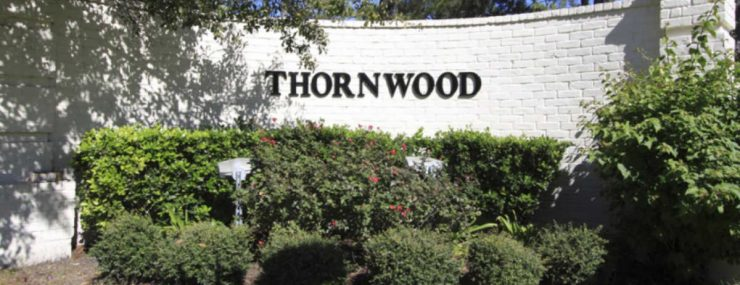 Thornwood Neighborhood Sign