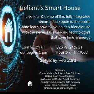 Reliant's Smart House Houston, TX