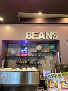 Beans sign inside